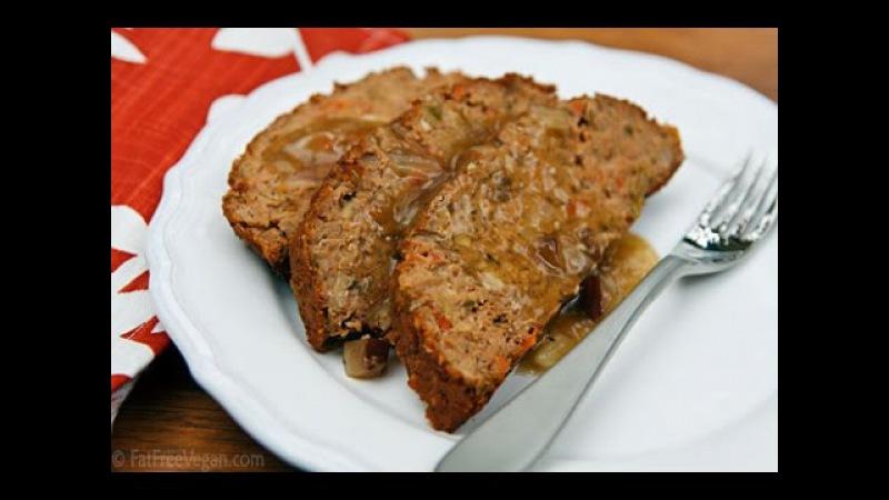 Веганский мясной хлеб / Veggie meatless loaf