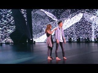 Танцы: Юля Николаева и Ваня Можайкин (Иван Дорн – Школьное окно) (сезон 2, серия 17)