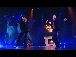 Танцы: Юрий Рыбак и Дима Масленников (Propellerheads,Bassey – History repeating) (сезон 2, серия 17)