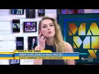 Amber Heard Contends With Hot Dance Action in 'Magic Mike XXL'