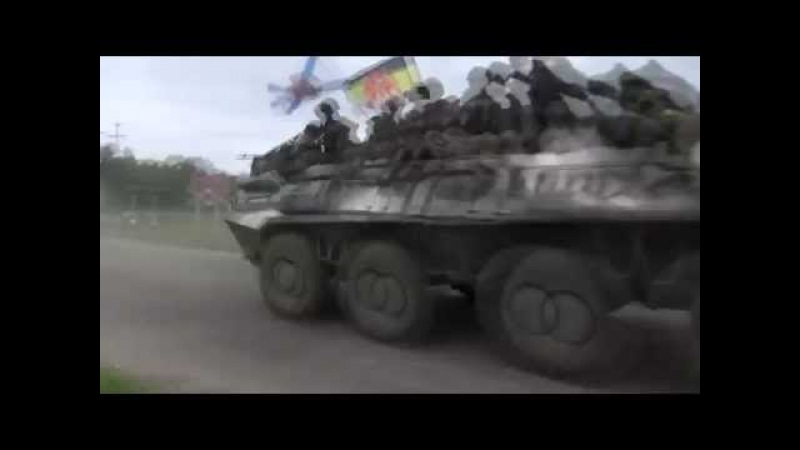 BTR gets air while blasting Sabaton