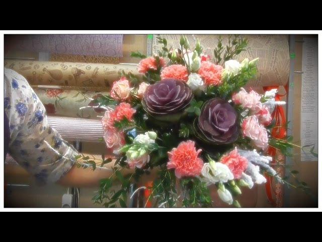 Флористика ☼ Букет цветов ☼ Уроки Флористики ☼ Собираем вместе букет цветов floristics