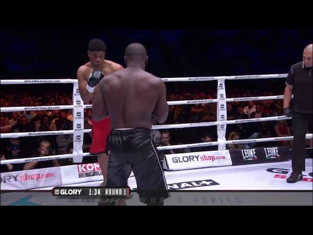 GLORY 22: Zack Mwekassa vs Carlos Brooks (Full Video)