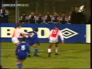 AFC Ajax (Amsterdam) - Real Zaragoza ( España) Суперкубок Европы 2 матч 1996-02-26