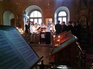 П.Г.Чесноков-Херувимская песнь на Видя разбойник