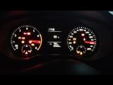 Тест стрелок+плавный розжиг подсветки приборной панели Volkswagen Jetta VI