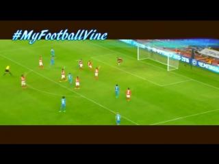 Артём Дзюба, гол в ворота Спартака | Спартак - Зенит | #MyFootballVine