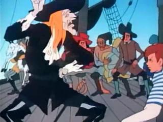 «Рассказы старого моряка. Необитаемый остров» (1971) — капитан Черного Спрута