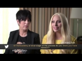 Lady Gaga and Diane Warren at The Oscars Lunch in Beverly Hills 2016  You feel it!