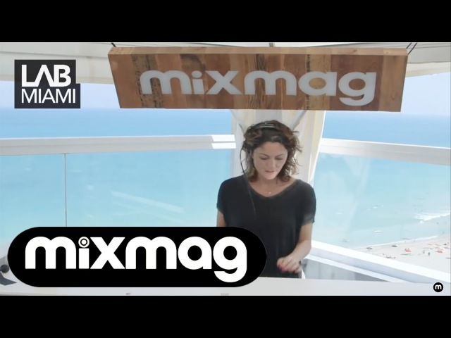 FRANCESCA LOMBARDO tech house DJ set in the Mixmag Lab Miami
