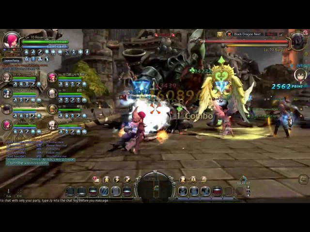 Dragon Nest Black Dragon Nest Stage 1 Elestra Ice Witch Perspective Clear
