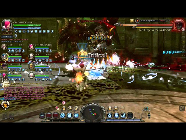 Dragon Nest Black Dragon Nest Stage 3 Elestra Ice Witch Perspective Fail lol