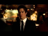 TVD 6X07 Damon Elena. Damon asks Elena dance