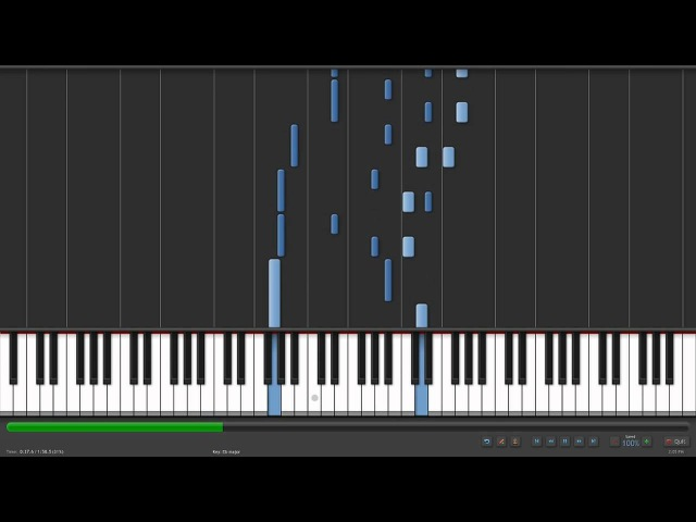 [Synthesia] Pandora Hearts- Lacie