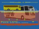 Crazy Bus Sega Genesis/MegaDrive Pirated Game Gameplay