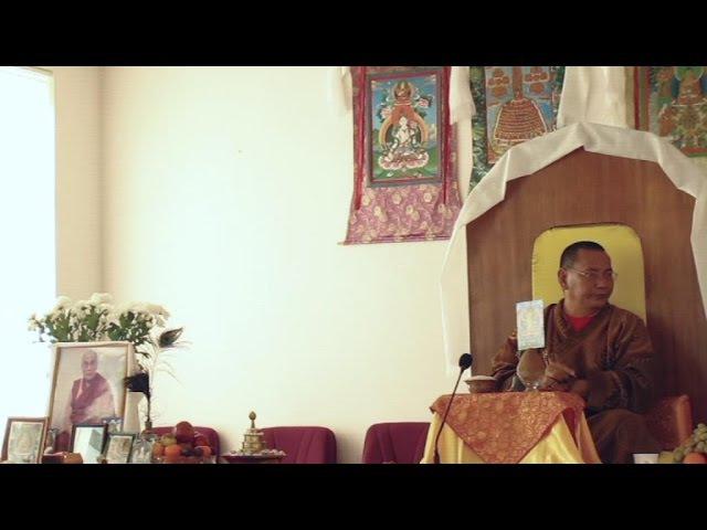 2011.10.09. Благословение Манджушри. Геше Джампа Тинлей. Омск. 01(1)