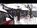 В Ясиноватой сотрудники МЧС ДНР спасли на пожаре двоих детей