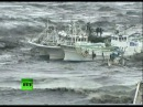 Video of mad tsunami waves battering ships, homes, cars after Japan earthquake