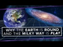 Why is the Earth Round and the Milky Way Flat? | Space Time | PBS Digital Studios