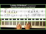 'Lullaby Of Birdland' - Jazz piano tutorial