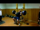 Koklyaev Training Shoulders 180 kg/396 lb angle 70 degrees