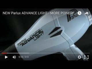 NEW Parlux ADVANCE LIGHT - MORE POWERFUL, LONGER LIFE