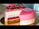 Муссовый КЛУБНИЧНЫЙ ТОРТ Mousse Strawberry Cake