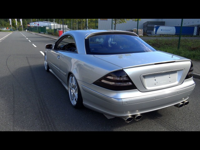 Mercedes CL 500 Lorinser - Sound / Acceleration / Onboard