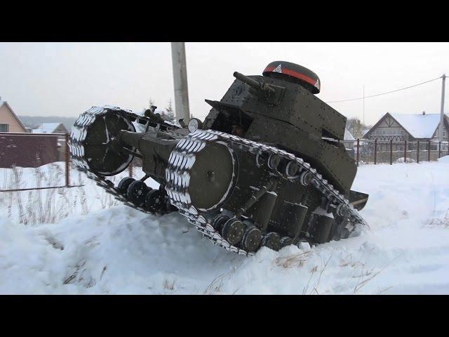 Как сделать танк за пять минут How to make a tank in five minutes