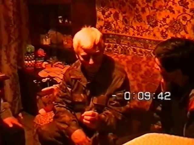 В.В. Орехов, А.С. Захаров у А.А. Кадочникова 1996