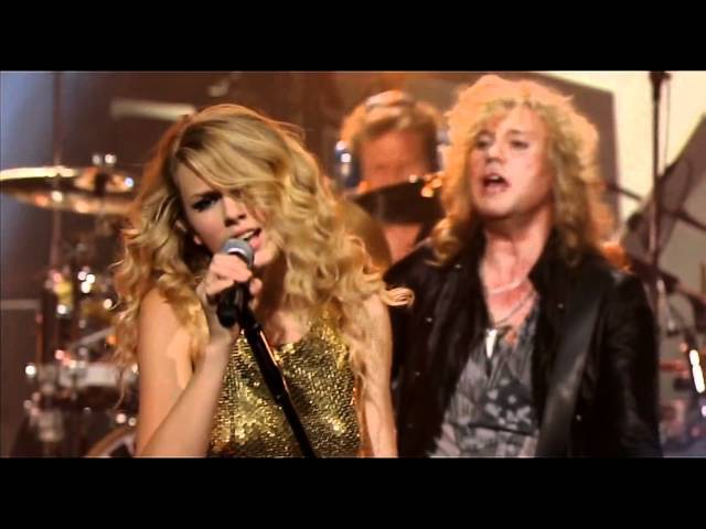 Def Leppard Taylor Swift Hysteria (CMT Crossroads, 6.10.2008)