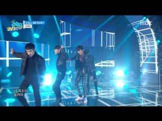 151226 EXO - Call me baby @ Music Core