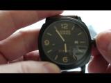 Мужские наручные часы Curren Leisure Series (black)