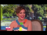 The Talk - Alyssa Milano Star-Struck by Bon Jovi- I literally couldnt talk to him