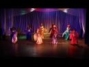 Восточный танец с вуалями и кинжалами. Хореограф-постановщик - Демидова Анастасия