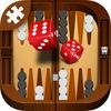 Короткие нарды на смартфоне!! Backgammon4money