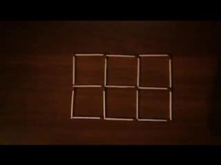 Головоломка со спичками (9) с ответом