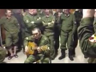 Армейские песни под гитару И там где Северный кавказ - YouTube