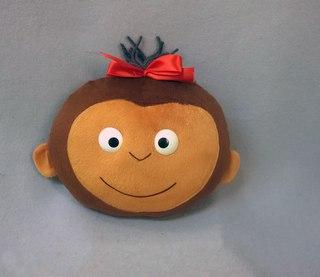 Как сшить подушку обезьянку своими руками