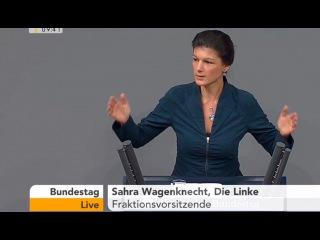 Сара Вагенкнехт: Целью США никогда не была демократия и права человека!