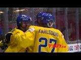 МЧМ-2016 1/4 финала: Швеция U20 – Словакия U20 – 6:0 (2:0, 1:0, 3:0)