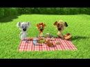 Белка и Стрелка: Озорная семейка 83 серия - Пикник