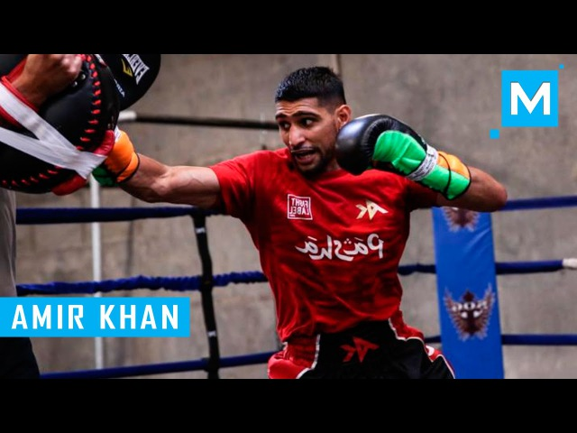Amir Khan Conditioning Training for Boxing Muscle Madness