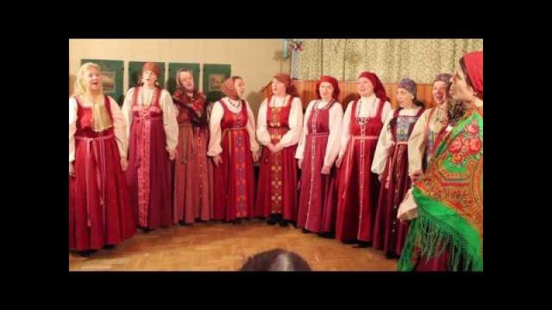 Русские народные песни Во поле берёза стояла, Порушка-Параня