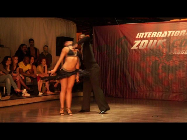 Gilson Damasco Natasha Terekhina, show at Prague Zouk congress 2012-03-30 [HD]