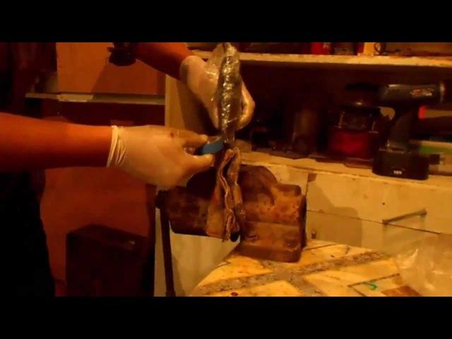 Микарта 2(делаем рукоять способом намотки)