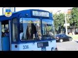 Черкасский троллейбус- Конечная остановка