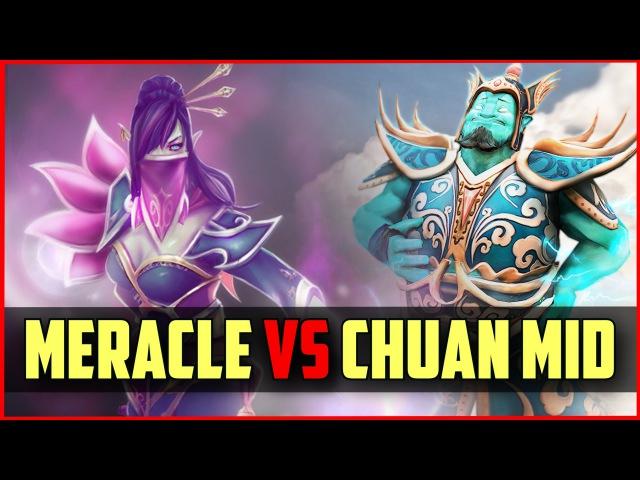 IG.Chuan Storm Spirit vs Meracle TA MID | ranked DOTA 2 gameplay