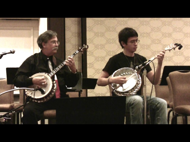 Sweet Georgia Brown Steve Caddick Nathan Hanna ~ New England Jazz BanjoFest