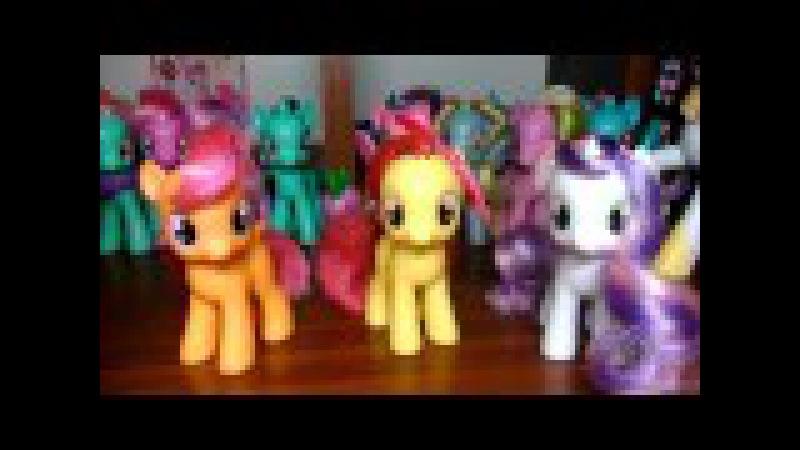 Обзор моей коллекции пони от Хасбро / My Little Pony от Hasbro MLP